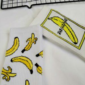 Unisex hip hop ponožky s vtipným potiskem