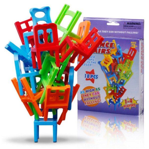 Stolní hra neposedné židle