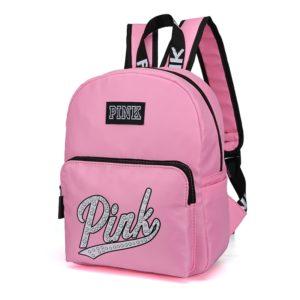 Nádherný dámský stylový batoh Pink