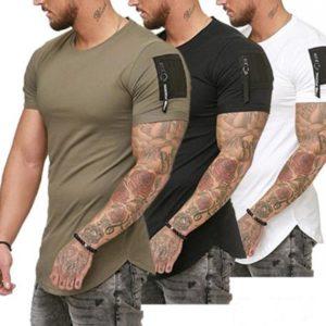 Stylové volné pánské tričko Rongeyu