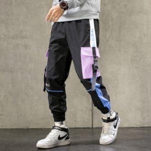 Pánské moderní joggers kalhoty s kapsami Nolan