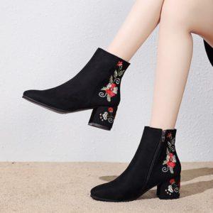Stylové dámské kotníkové boty Kleck