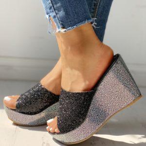 Luxusní stylové dámské pantofle