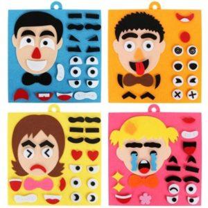 Kreativní dětská vzdělávací hračka - vtipné lepení