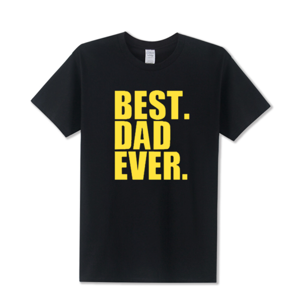 Tričko pro nejlepší táty s krátkým rukávem