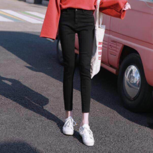 Dámské módní tužkové džíny