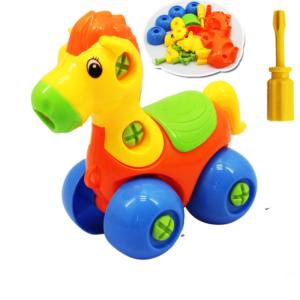 Vzdělávací plastové zvířátka nebo autíčko pro děti