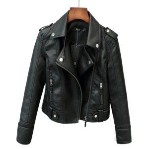 Dámská luxusní kožená bunda Rachel