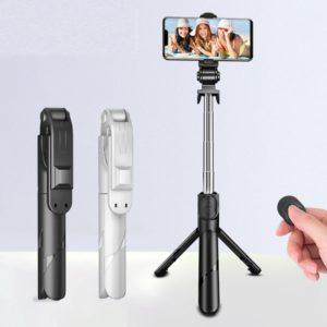 Přenosná selfie tyč / stativ s bluetooth ovladačem