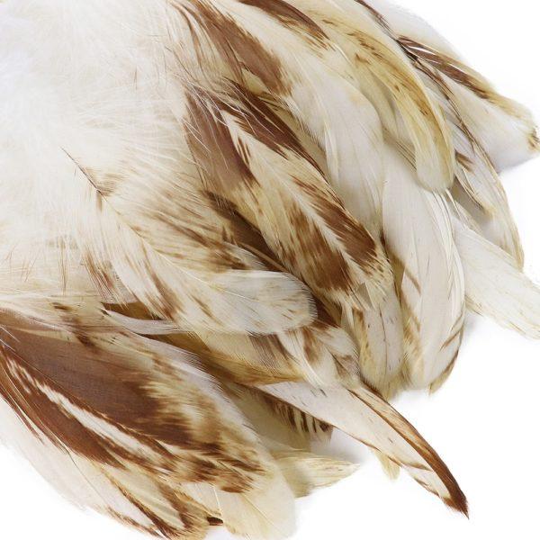 Dekorační kohoutí peří 50 ks