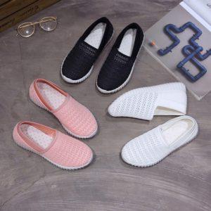Dámské stylové letní slip on boty Rebeka