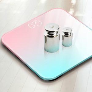 LED digitální elegantní váha