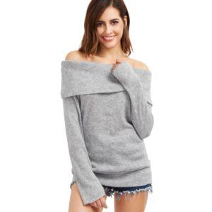 Dámský trendy jarní svetr s dlouhým rukávem Jodi
