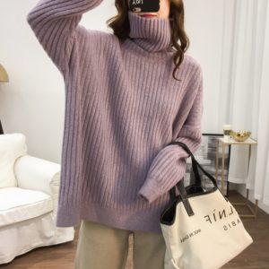 Dámský nádherný stylový svetr Týna