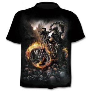 Chlapecké designové triko Hell