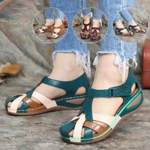 Dámské pohodlné letní sandále v různých barvách
