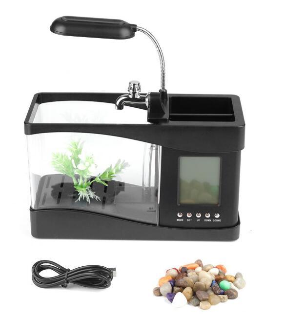 Stolní dekorace - mini akvárium