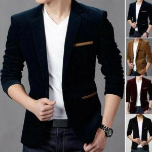 Pánský elegantní stylový blazer Harry