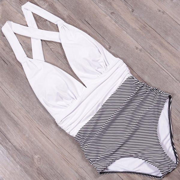 Nádherné dámské jednodílné plavky Naki