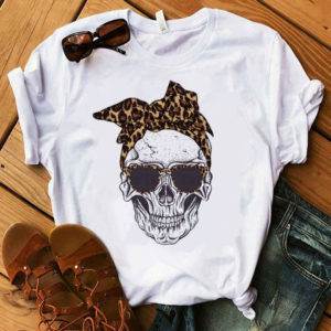 Stylové dámské tričko s lebkou Rachel